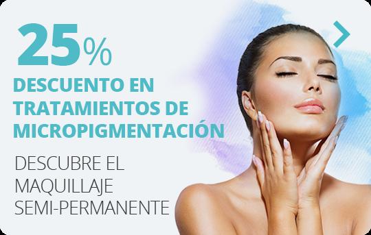 25% de descuento en tratamientos de Micropigmentación
